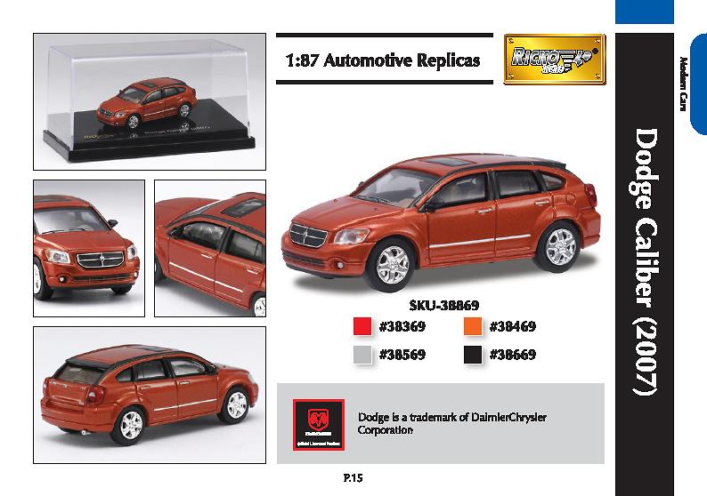 Dodge Caliber (2007) Ricko 9838869 1/87