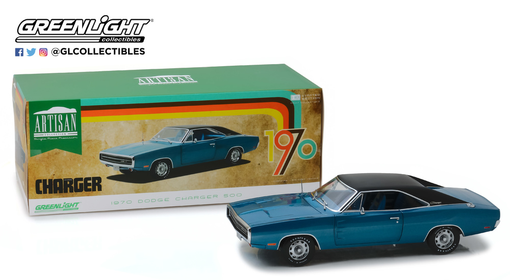 Dodge Charger 500 SE B5 (1970) Greenlight 1/18 13530