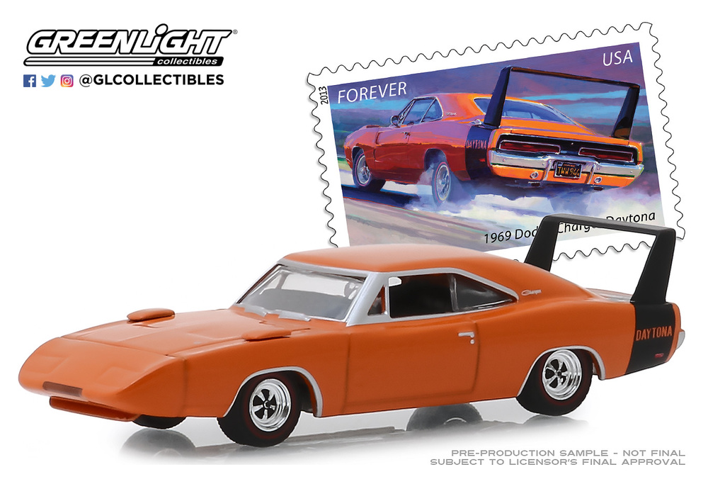 Dodge Charger Daytona USPS