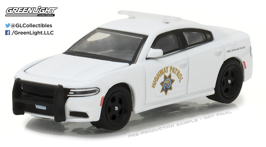Dodge Charger Policia carretera de Calfornia (2016) Greenlight 42820F 1/64