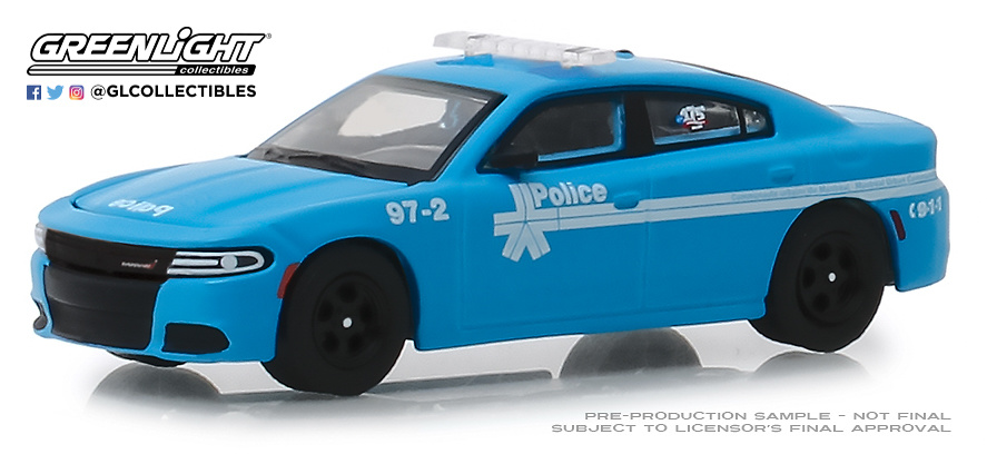 Dodge Charger - Montreal - Canada Police (2018) Greenlight 27980E 1/64