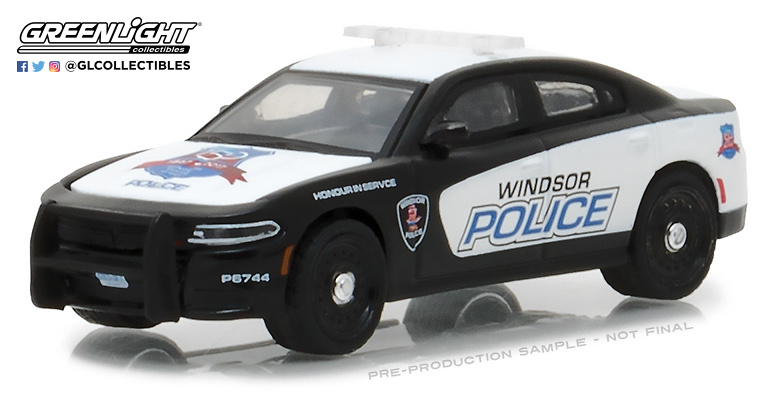Dodge Charger - Windsor Ontario Canada 150th Anniv (2016) Greenlight 42830F 1/64