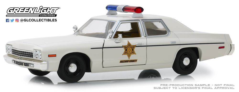Dodge Mónaco Hazzard County Sheriff (1975) Greenlight 84094 1/24