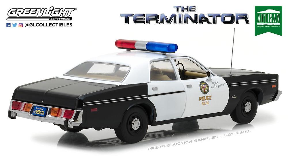 Dodge Mónaco - Policía Metropolitana