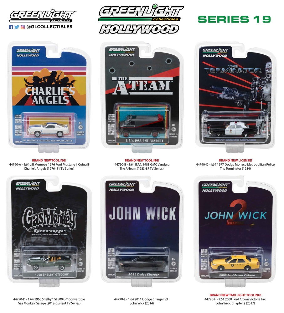 Hollywood Series 19 Greenlight 1/64