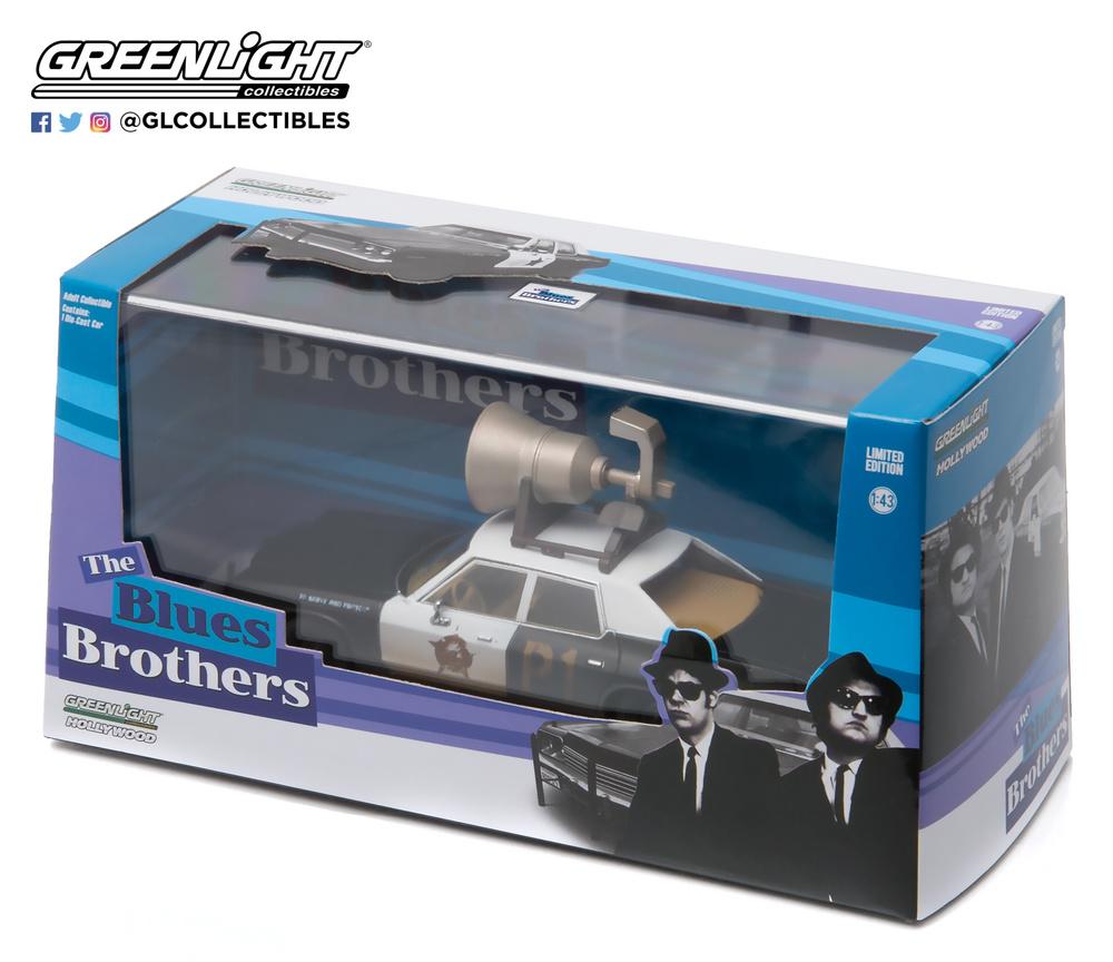 Dodge Monaco Bluesmobile con altavoz