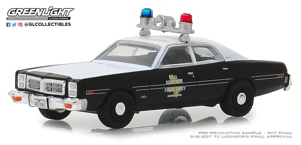 42870-B 1:64 Hot Pursuit Series 30 - 1977 Dodge Monaco - Texas Highway Patrol