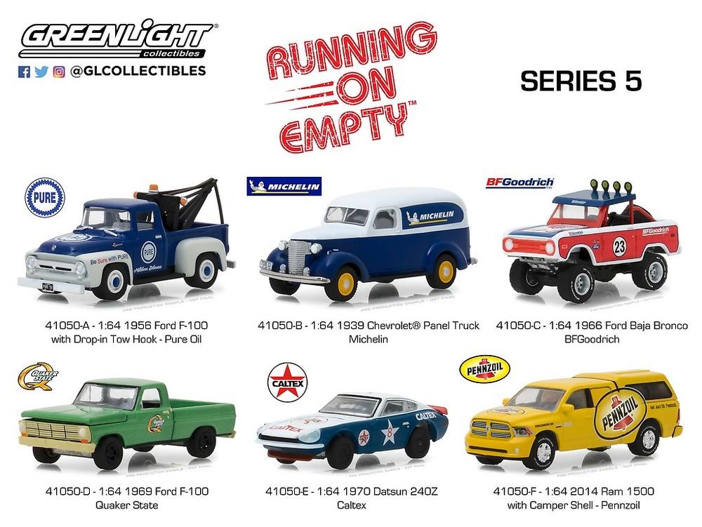 Running on Empty Series 5 (2019) Greenlight 41050 1/64