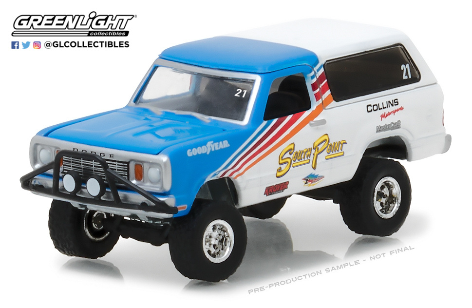 Dodge Ramcharger Pick-Up (1977) Greenlight 35090C 1/64