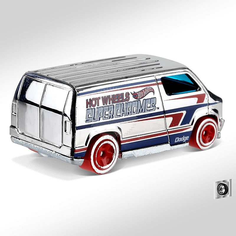 Dodge Van Custon -Super Chromes- (1977) Hot Wheels FYD54 1/64