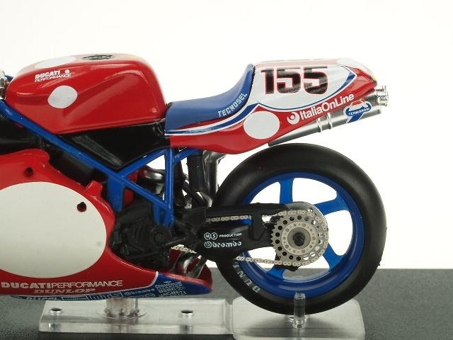 Ducati 996R nº 155 Ben Bostrom (2001) Altaya 702861 1/24