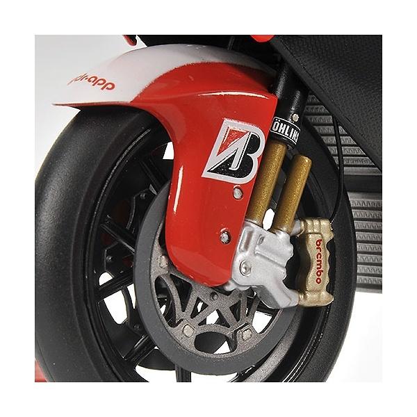 Ducati Desmo 16 GP7 nº 4 Alex Barros (2007) Minichamps 122070004 1/12