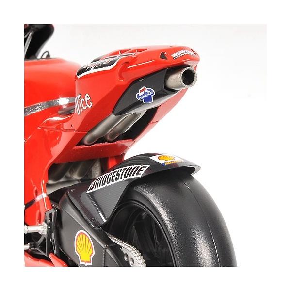 Ducati Desmosedici nº 65 Loris Capirossi (2007) Minichamps 122070065 1/12