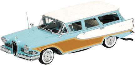 Edsel Bermuda Station Wagon (1958) Minichamps 400082014 1/43