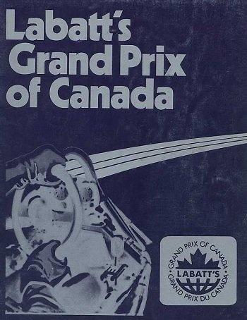 Poster GP. F1 Canadá de 1977