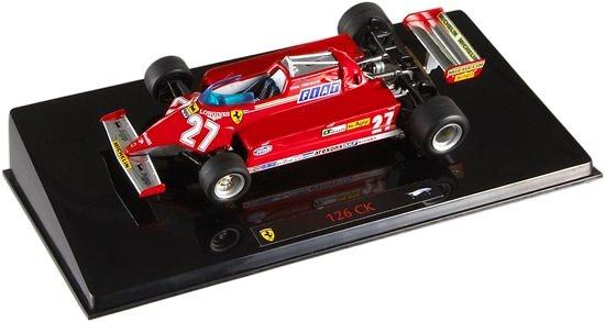 Ferrari 126 CK nº 27 Gilles Villeneuve (1981) Hot Wheels P9945 1/43