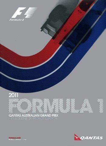 Poster del GP. F1 de Australia de 2011