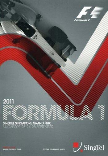 Poster del GP. F1 de Singapur de 2011