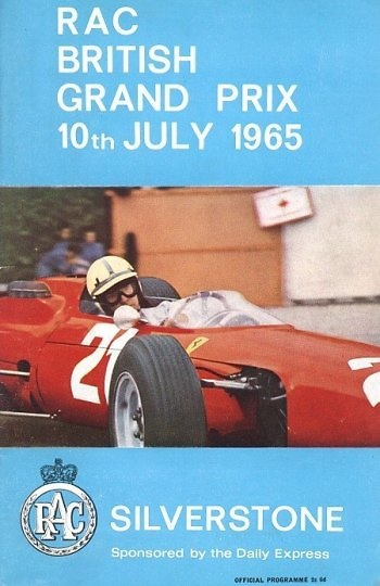Poster del GP. F1 de Silverstone de 1965
