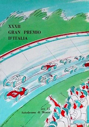Poster del GP. F1 de Italia de 1961