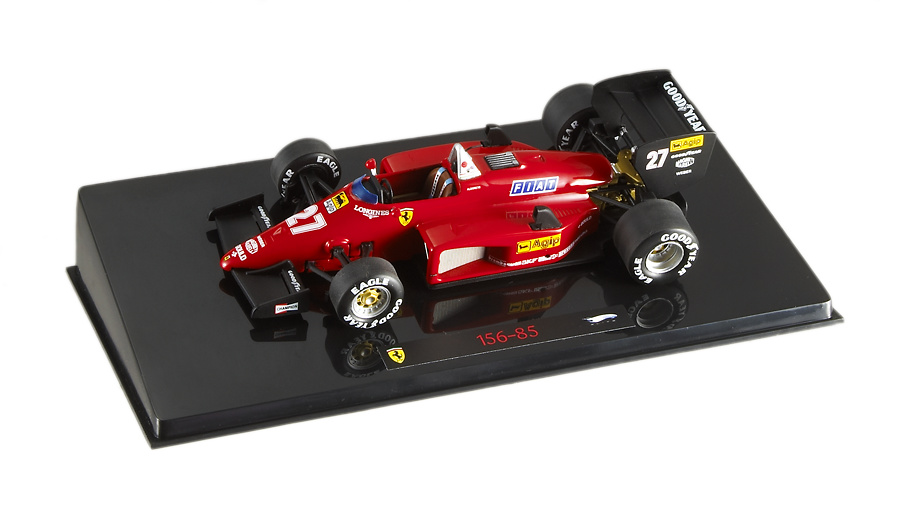 Ferrari 156/85 nº 27 Michele Alboreto (1985) Hot Wheels N5585 1/43