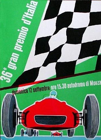 Poster del GP. F1 de Italia de 1965