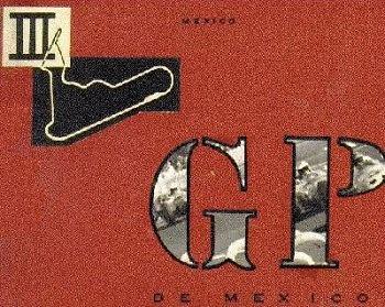 Poster GP. F1 de México de 1964