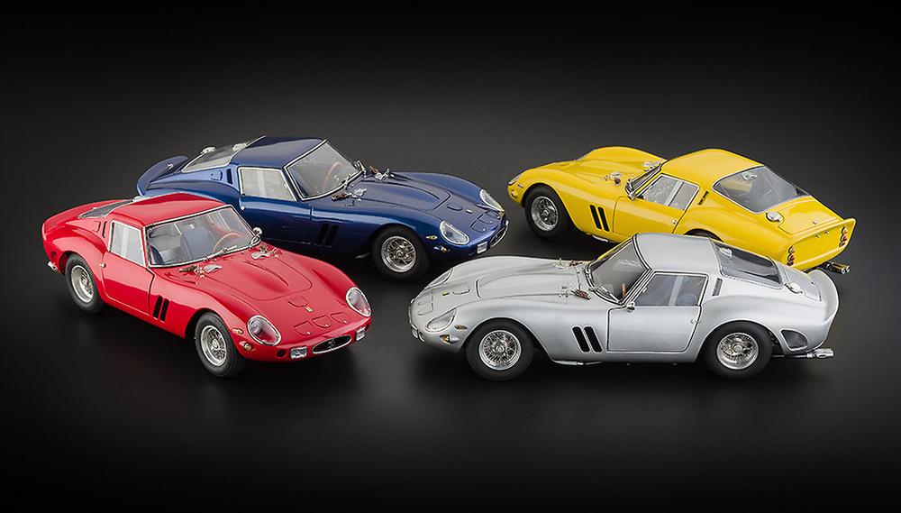 Ferrari 250 GTO (1962) CMC 1:18