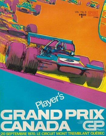 Poster del GP. F1 de Canadá de 1970