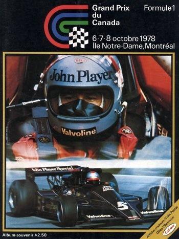 Poster del GP: F1 de Canadá de 1978