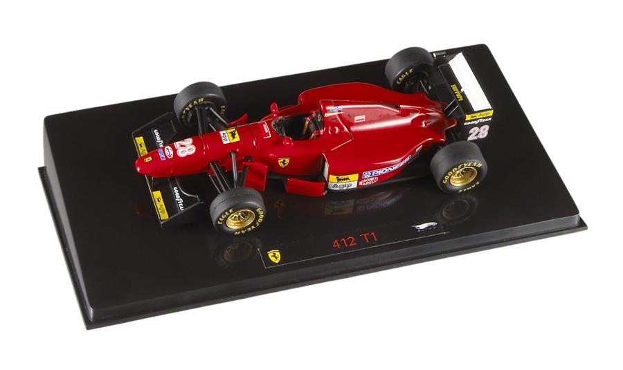 Ferrari 412 T1B nº 28 Gerhard Berger (1994) Hot Wheels N5583 1/43