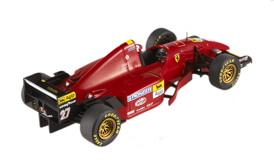 Ferrari 412 T2 nº 27 Jean Alesi (1995) Hot Wheels Elite P9946 1/43