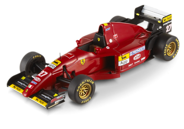 Ferrari 412 T2 nº 27 Jean Alesi (1995) Hot Wheels Elite 1/43