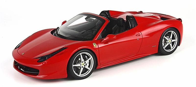 Ferrari 458 Spider (2011) BBR P1836A 1/18