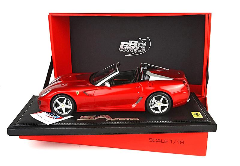 Ferrari 599 Super America Aperta (2010) BBR P1825 1/18