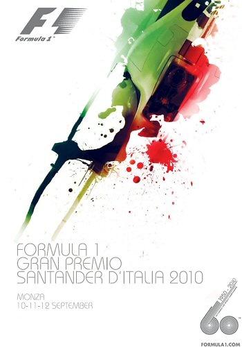 Poster del GP. de Italia de 2010