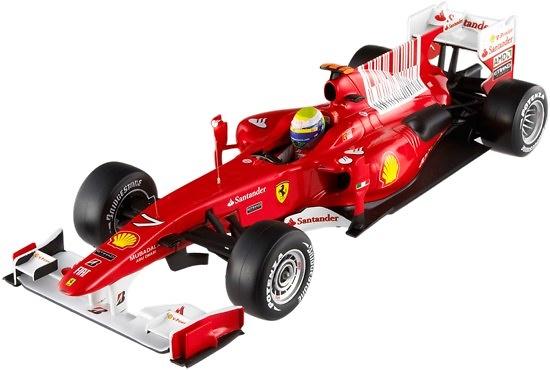 Ferrari F10 nº 7 Felipe Massa (2010) Hot Wheels T6288 1/18