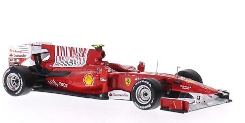 Ferrari F10 Nº8 Fernando Alonso (2010) Altaya SPC211973 1:43