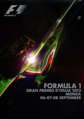Poster del GP. F1 de Italia de 2013