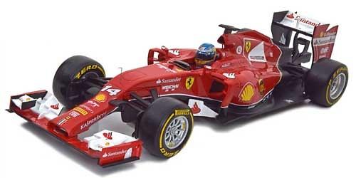 Ferrari F14 T nº 14 Fernando Alonso (2014) HotWheels BLY69 1:43