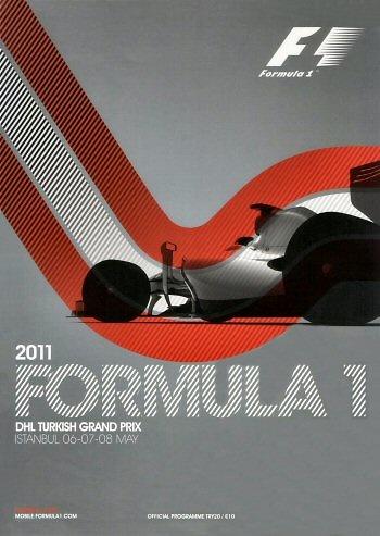 Poster del GP. F1 de Turquía de 2011