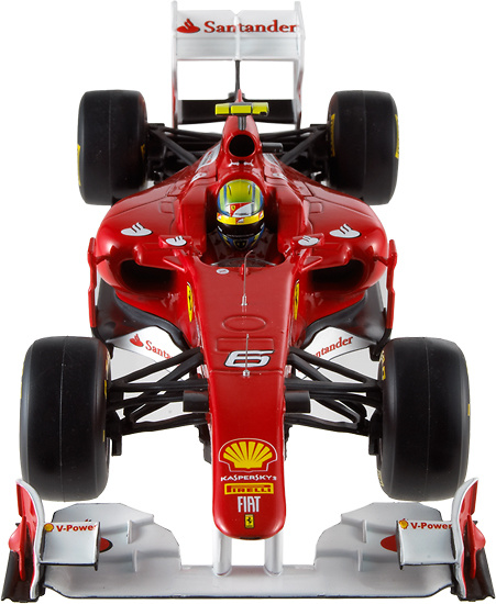 Ferrari F150 nº 6 Felipe Massa (2011) Hot Wheels W1074 1/18