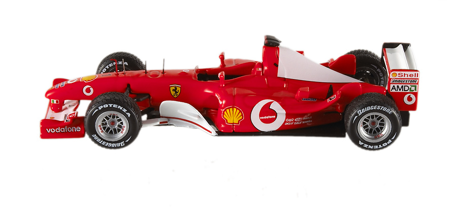 Ferrari F2003 GA nº 1 Michael Schumacher (2003) Hot Wheels Elite P9944 1/43