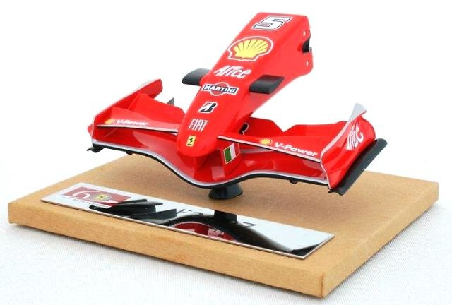 Ferrari F2007 Frontal Monoplaza Nº 5 Felipe Massa (2007) Amalgam M5154 1/12
