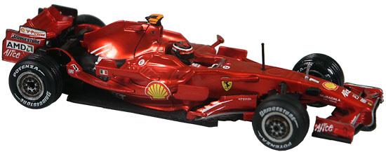 Ferrari F2008 nº 1 Kimi Raikkonen (2008) Hot Wheels L8779 1/43