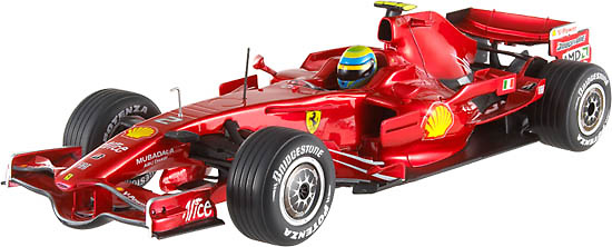 Ferrari F2008 nº 2 Felipe Massa (2008) Hot Wheels M0556 1/43