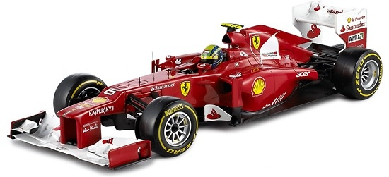 Ferrari F2012 nº 6 Felipe Massa (2012) Hot Wheels 1/18