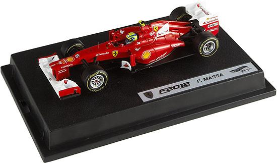 Ferrari F2012 nº 6 Felipe Massa (2012) Hot Wheels X5523 1/43
