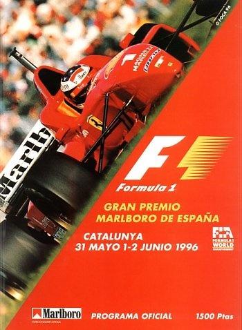 Poster GP. F1 de España de 1996