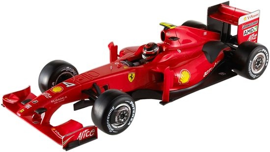 Ferrari F60 nº 4 Kimi Raikkonen (2009) Hot Wheels P9965 1/18